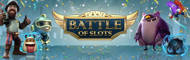 Improved Battle of Slots at Videoslots Casino